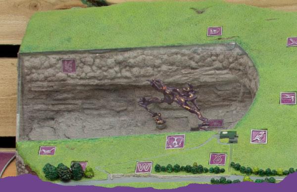 3D model of the caverns at Treak Cliff