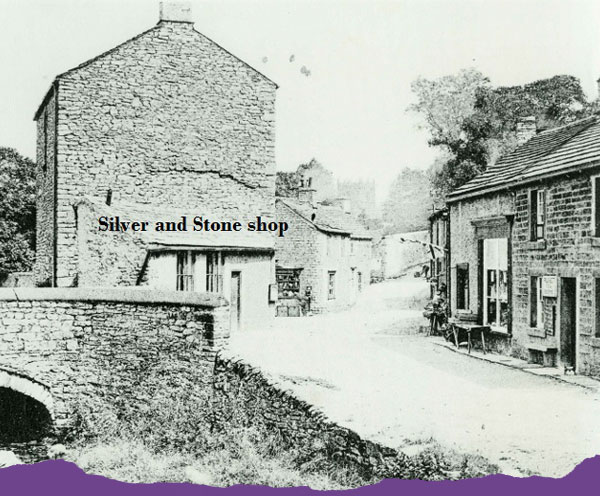 The Silver and Stone Shop in Castleton at the turn of the 19th century