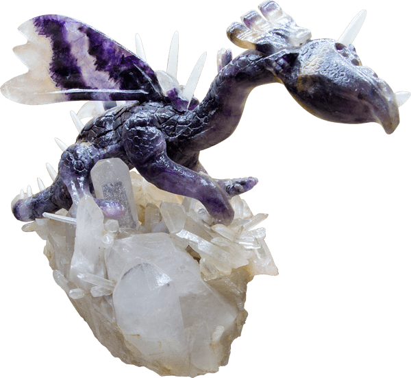 The Blue John Dragon