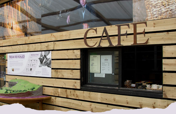 Café at the Treak Cliff visitor Centre