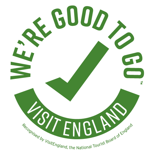 Good to Go - Visit England Cornoavirus safety logo